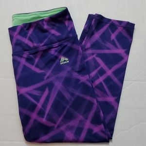 Reebok Capri Leggings Pants Women's Size Medium
